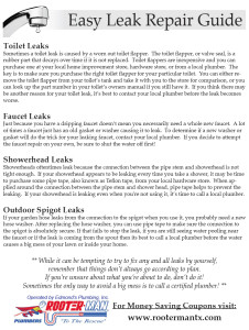 easy leak repair guide